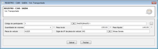 Registro C160 EFD